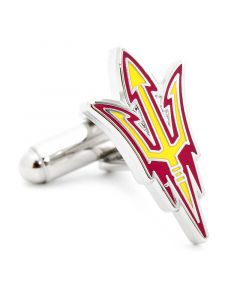 Arizona State University Sun Devils Pitchfork Cufflinks