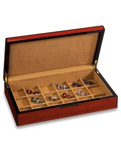 Luxury 18 Holder Cufflink Case