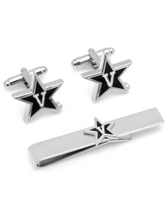 Vanderbilt Cufflinks and Tie Bar Gift Set