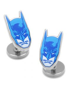 Blue Comics Batman Mask Cufflinks