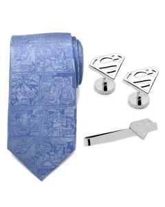 Superman Necktie Gift Set