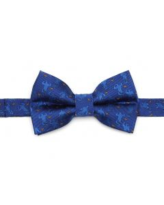Genie Scattered Blue Big Boy's Bow Tie