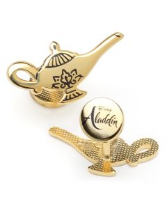 Gold Lamp Cufflinks