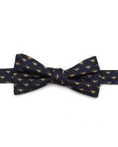 Lamp Scattered Navy Men's Bow Tie