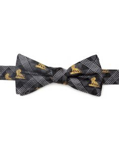 Lion King Pose Black Men's Bow Tie