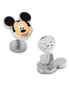 Mickey Mouse Smile Cufflinks