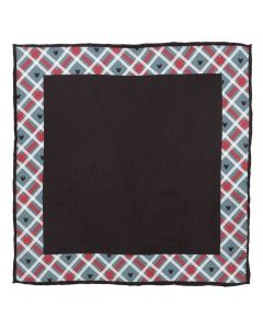 Mickey Mouse Holiday Plaid Pocket Square