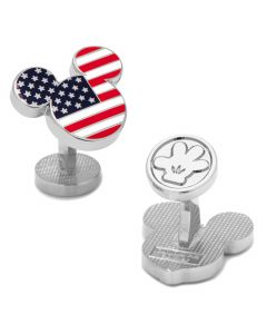 Stars and Stripes Mickey Mouse Cufflinks