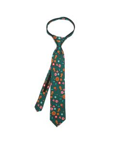 Nutcracker Green Peppermint Boys Tie