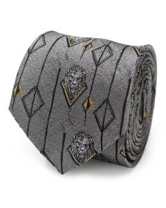 Scar Gray Men's Tie