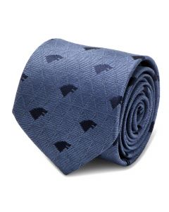 Stark Geometric Sword Blue Men's Tie