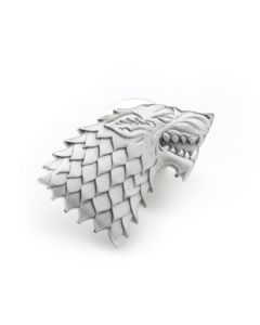 Stark Direwolf Antiqued Lapel Pin