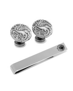 Game of Thrones Targaryen Cufflinks and Tie Bar Gift Set
