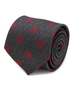 Targaryen Geometric Sword Gray Men's Tie