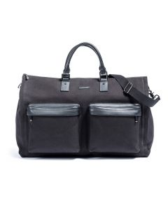 Black Twill Garment Weekender Bag