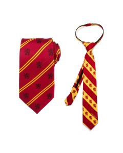 Father and Son Gryffindor Necktie Gift Set