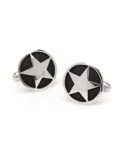 Antique Star Cuff Links