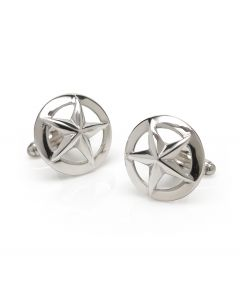 Sterling Silver 3D Stars