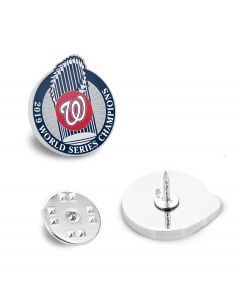 Limited Edition 2019 Washington Nationals Championship Lapel Pin