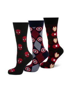 Favorite Avengers 3 Pair Socks Gift Set