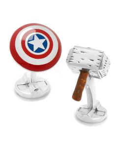 "Endgame Captain America ""I Knew It"" 3D Cufflinks"