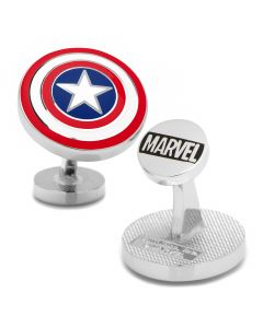 Captain America Shield Cufflinks