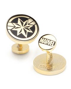 Captain Marvel Cufflinks