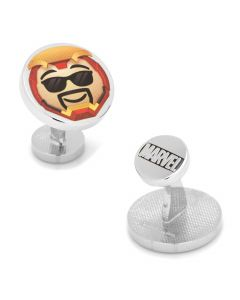 Iron Man Emoji Cufflinks