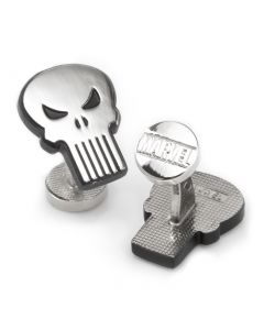 The Punisher Silver Cufflinks