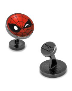 Spider-Man Emoji Cufflinks