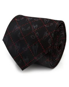 Spider-Man Eyes Diamond Men's Tie