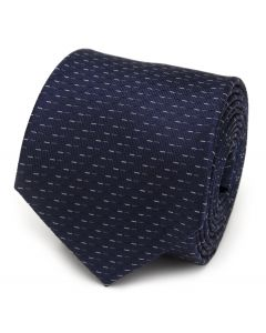 Blue Pattern Men's Tie