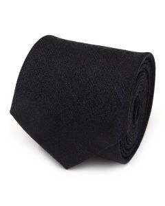 Heathered Blue Wool Men's Tie