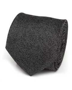 Heathered Gray Wool Men's Tie