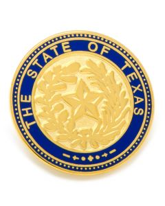 State of Texas Seal Lapel Pin