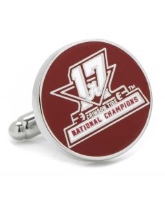 2017 University of Alabama National Champions Cufflinks