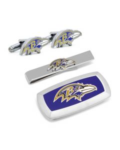 Baltimore Ravens Head 3-Piece Cushion Gift Set