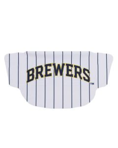 Milwaukee Brewers Pin Stripe Face Mask