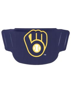 Milwaukee Brewers Logo Face Mask