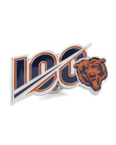Chicago Bears 100th Lapel Pin