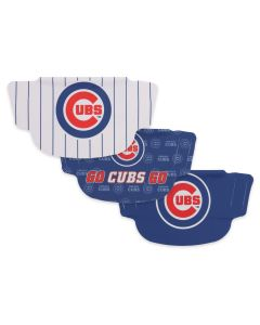 Chicago Cubs 3 Pack Face Mask