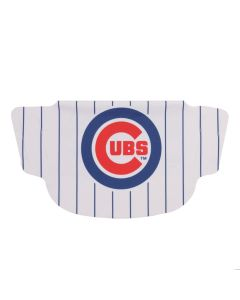 Chicago Cubs Pin Stripe Face Mask
