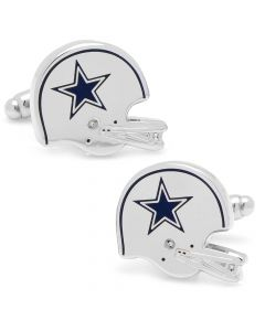 Retro Dallas Cowboys Helmet Cufflinks