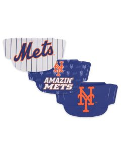 New York Mets 3 Pack Face Mask