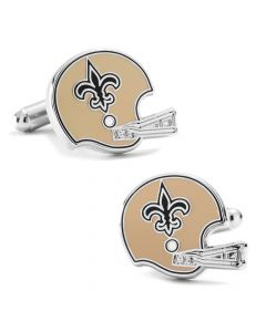 Retro New Orleans Saints Helmet Cufflinks