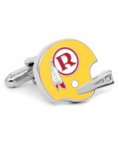 Retro Washington Redskins Helmet Cufflinks