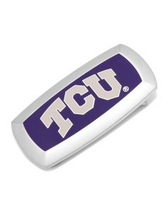 TCU Horned Frogs Cushion Money Clip