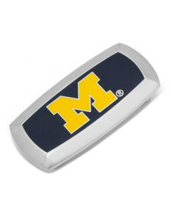 University of Michigan Wolverines Cushion Money Clip