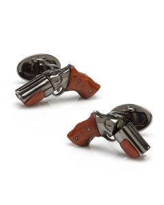 Sterling Moving Shotgun Cufflinks