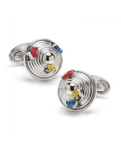 Sterling Tour De France Cufflinks